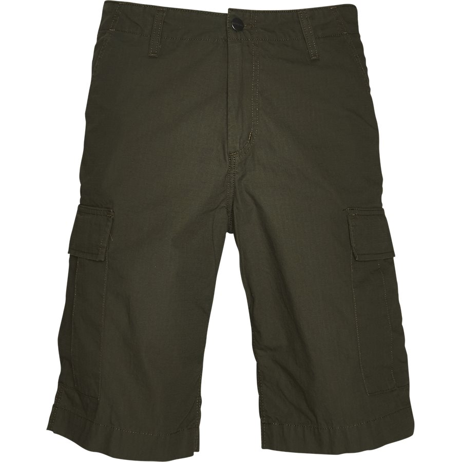 REGULAR CARGO SHORT. I015999 - Regular Cargo Shorts - Shorts - Regular - CYPRESS RINSED - 1